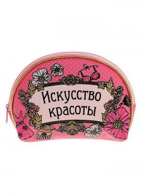 Косметичка А М Дизайн. Цвет: лиловый, розовый