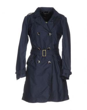 Легкое пальто DEK'HER. Цвет: темно-синий
