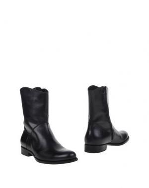Полусапоги и высокие ботинки LEONARDO PRINCIPI. Цвет: стальной серый