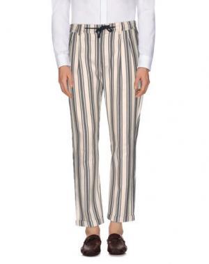 Повседневные брюки STILOSOPHY INDUSTRY. Цвет: темно-синий