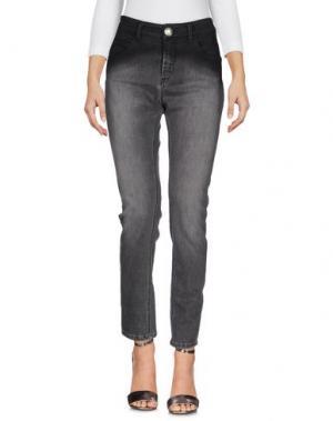 Джинсовые брюки BRAND UNIQUE. Цвет: черный