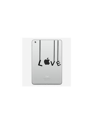 Наклейка для iPad mini Love Kawaii Factory. Цвет: черный