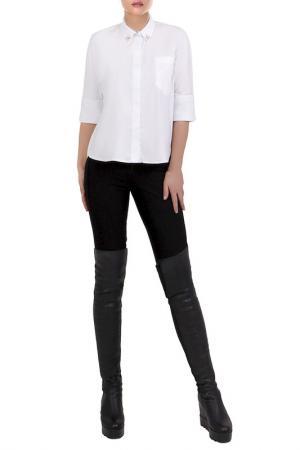 Рубашка JUNONA. Цвет: белый