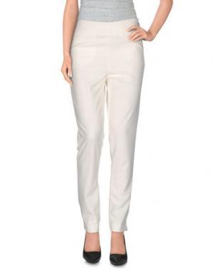 Повседневные брюки BERNA. Цвет: слоновая кость