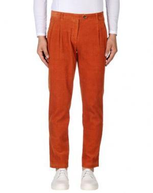Повседневные брюки WEILI ZHENG. Цвет: оранжевый