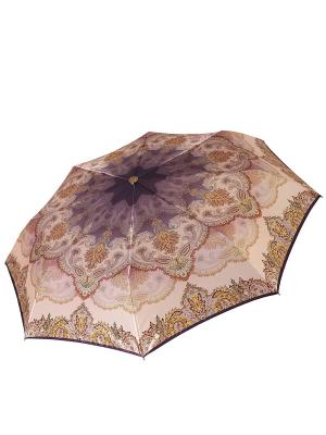 Зонт Fabretti. Цвет: сиреневый, желтый