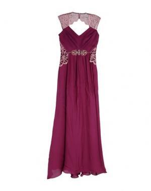Длинное платье BADGLEY MISCHKA. Цвет: пурпурный