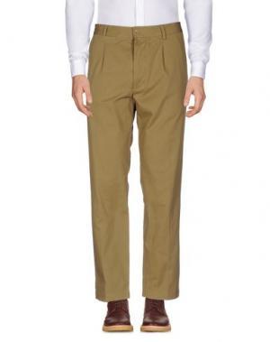 Повседневные брюки EAST HARBOUR SURPLUS. Цвет: зеленый-милитари
