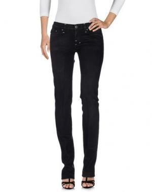 Джинсовые брюки ROCK & REPUBLIC. Цвет: черный