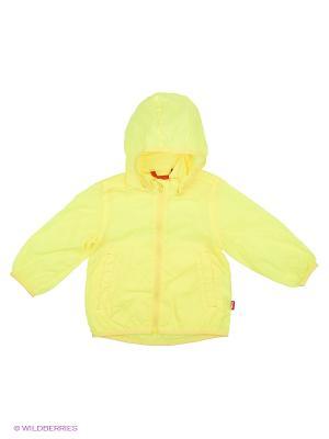 Куртка Reima. Цвет: желтый