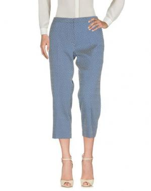 Повседневные брюки PAOLA ROSSINI. Цвет: темно-синий