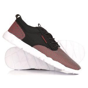 Кроссовки  Premier 2.0 Black/Red Mesh DVS. Цвет: черный,белый,красный