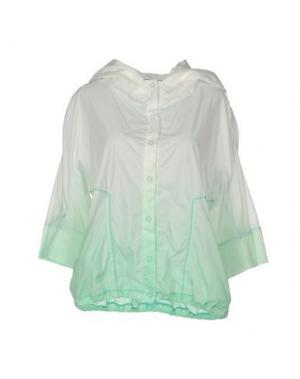 Куртка OBLIQUE CREATIONS. Цвет: зеленый