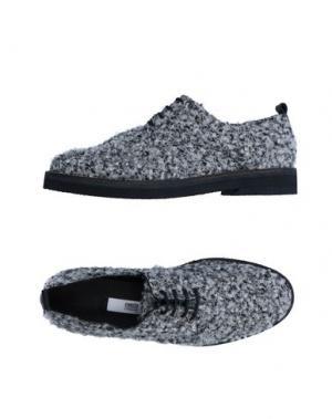 Обувь на шнурках MIISTA. Цвет: белый