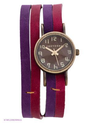 Часы TOKYObay. Цвет: розовый, фиолетовый