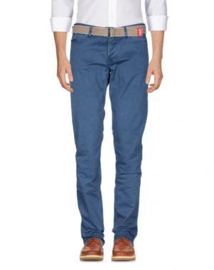 Повседневные брюки JAGGY. Цвет: грифельно-синий