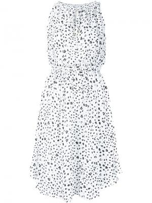 Ink dot print dress Derek Lam 10 Crosby. Цвет: белый