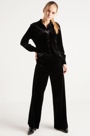 Расклешенные брюки BGN. Цвет: черный