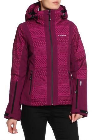 Куртка Icepeak. Цвет: фиолетовый
