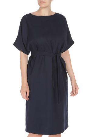 Свободное платье с поясом Cyrille Gassiline. Цвет: касторовый