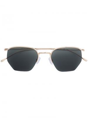Солнцезащитные очки Geo Smoke X Mirrors. Цвет: металлический