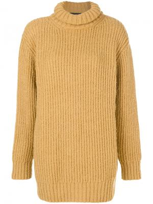Джемпер-водолазка Marc Jacobs. Цвет: жёлтый и оранжевый