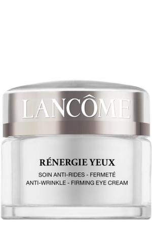 Крем для кожи вокруг глаз от морщин Rénergie Yeux Lancome. Цвет: бесцветный