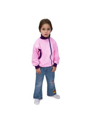 Куртка-косушка МИКИТА. Цвет: фиолетовый,розовый