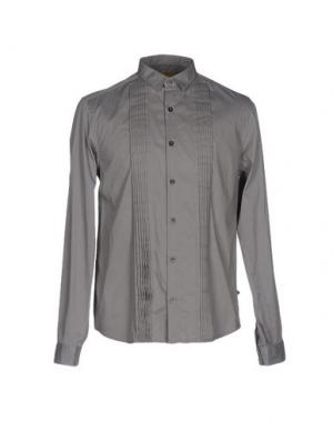 Pубашка C'N'C' COSTUME NATIONAL. Цвет: серый