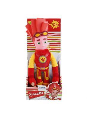 Мягкая кукла  Файер Мульти-пульти. Цвет: красный, желтый