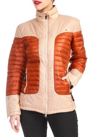 Куртка YETI. Цвет: оранжевый