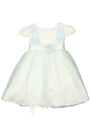 Нарядное платье Vitacci. Цвет: кремовый