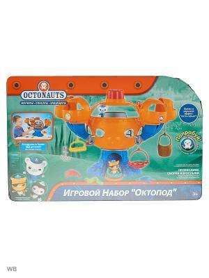 Октонавты Подводная База ОКТОПОТ Mattel. Цвет: синий, оранжевый