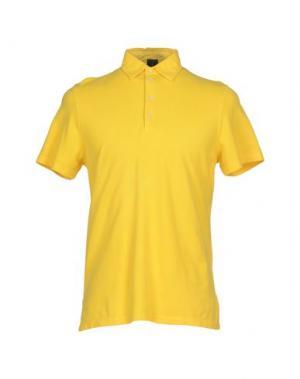 Поло MOSAIQUE. Цвет: желтый
