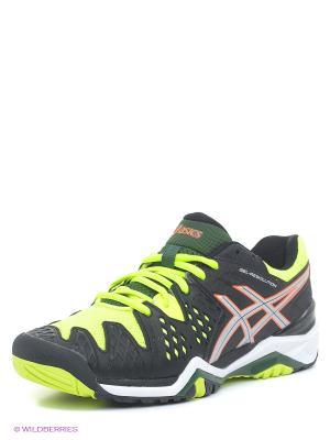 Теннисные кроссовки GEL-RESOLUTION 6 ASICS. Цвет: черный