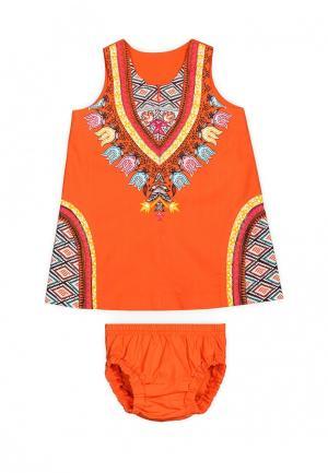 Комплект Ёмаё. Цвет: оранжевый