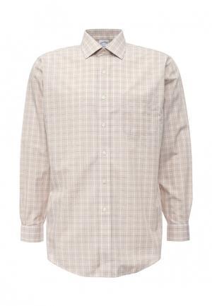 Рубашка Brooks Brothers. Цвет: бежевый