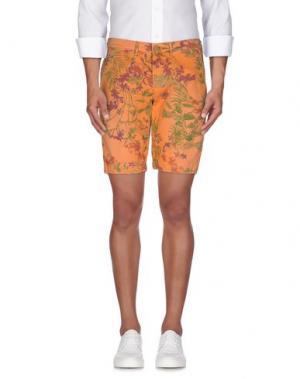 Бермуды OAKS. Цвет: оранжевый