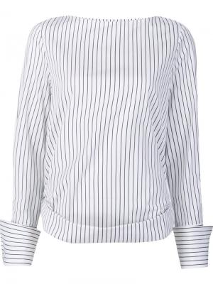 Lavarone shirt Toteme. Цвет: белый