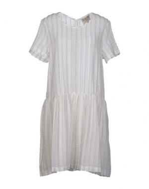 Короткое платье SEA. Цвет: слоновая кость