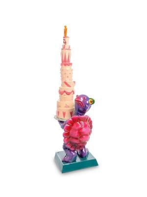 Фигурка Черепаха с подарками Art East. Цвет: бежевый, розовый, сиреневый