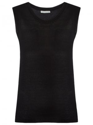Knit top Martha Medeiros. Цвет: чёрный