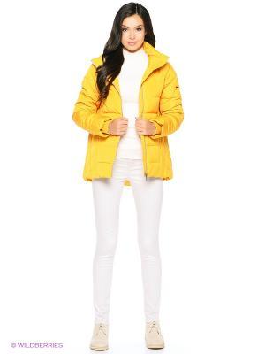Пуховик Baon. Цвет: желтый