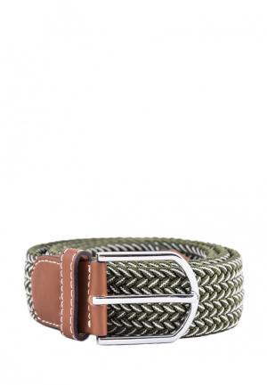 Ремень Churchill accessories. Цвет: зеленый