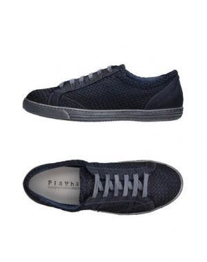 Низкие кеды и кроссовки PLAYHAT. Цвет: темно-синий
