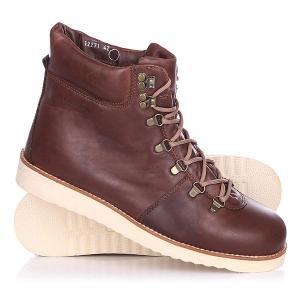 Ботинки зимние  Tim Leath Brown Rheinberger. Цвет: коричневый