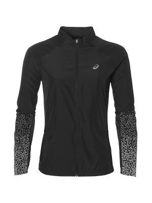 Куртка LITE-SHOW JACKET ASICS. Цвет: черный