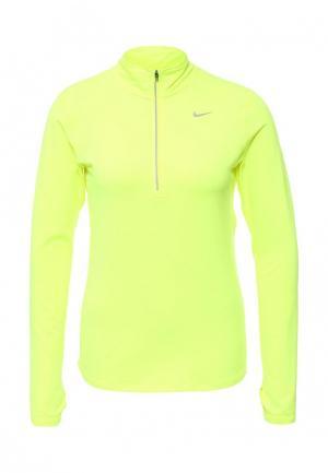 Лонгслив спортивный Nike. Цвет: желтый