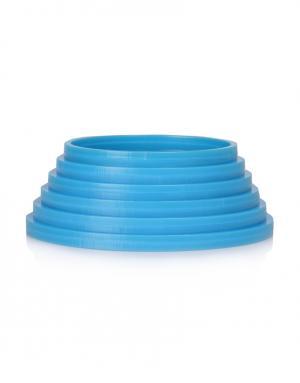 Пластиковый браслет Yazbukey. Цвет: синий