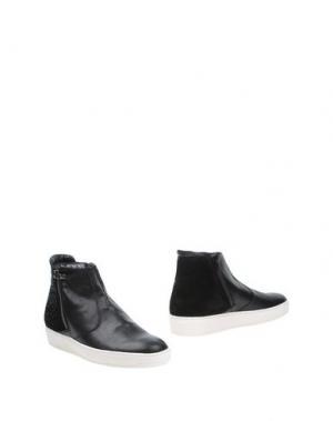 Полусапоги и высокие ботинки ANDREA MORELLI. Цвет: черный